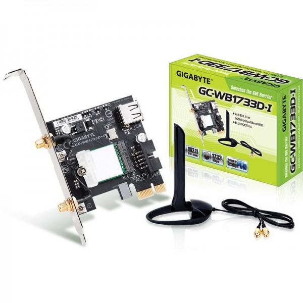 Vorschau: Gigabyte PCIe GC-WB1733D-I WLAN AC