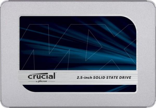 Vorschau: Crucial MX500 500GB, SATA