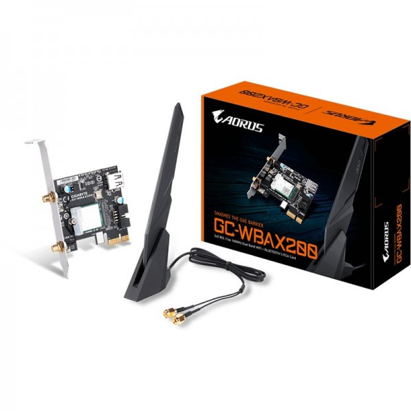 Vorschau: Gigabyte GC-WBAX200 WLAN & Bluetooth 5.0 (PCIe x1)
