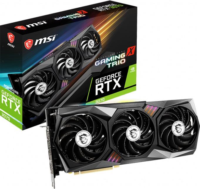 Nvidia GeForce RTX 3070 8GB GDDR6,